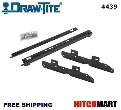 UNDER BED MOUNTING RAIL KIT FOR UNDER / ABOVE-BED GOOSENECK TRAILER HITCH 4439