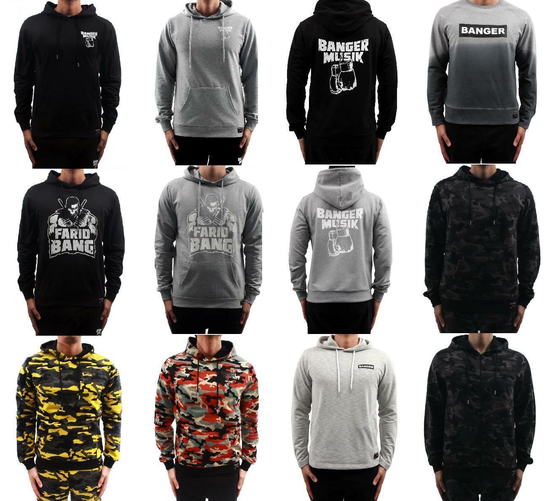 Farid Bang Banger Musik KC Rebell Hoodies Kapuzenpullover und Sweater |