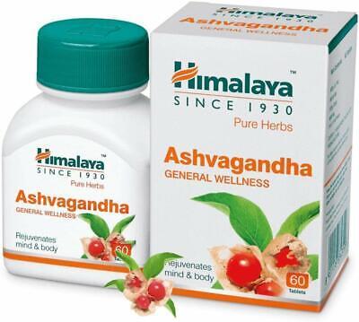 HIMALAYA Wellness ASHVAGANDHA Ashwagandha sexual health aphrodisiac (60 Tablets)