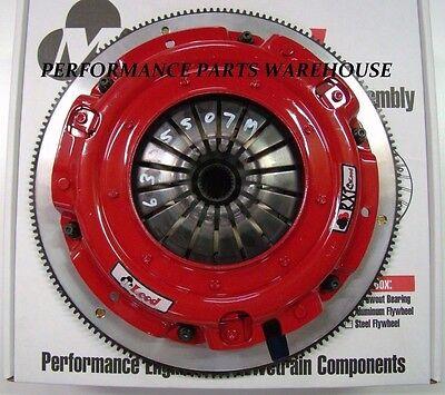 McLEOD RXT 1000-HP TWIN DISC CLUTCH & ALUMINUM FLYWHEEL 1997-15 GM LS ENGINE