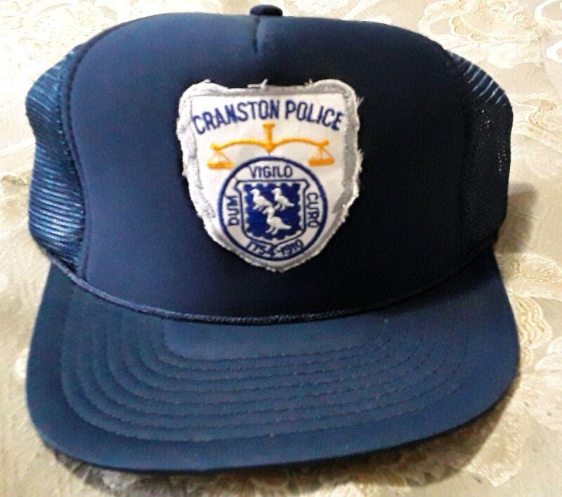 Cranston Rhode Island Police Department Hat