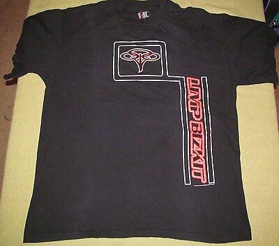 LIMP BIZKIT LIMPTROPOLIS TOUR 1999 Black tee RARE Men's size XL 23.5 in by 29 in