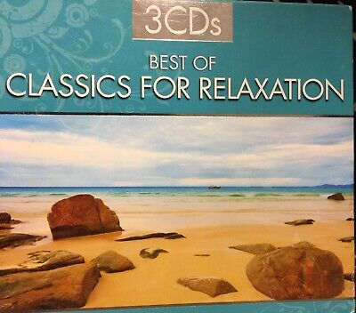 3 CD SET Best Of Classics For Relaxation - Various Artist (CDs Used Very