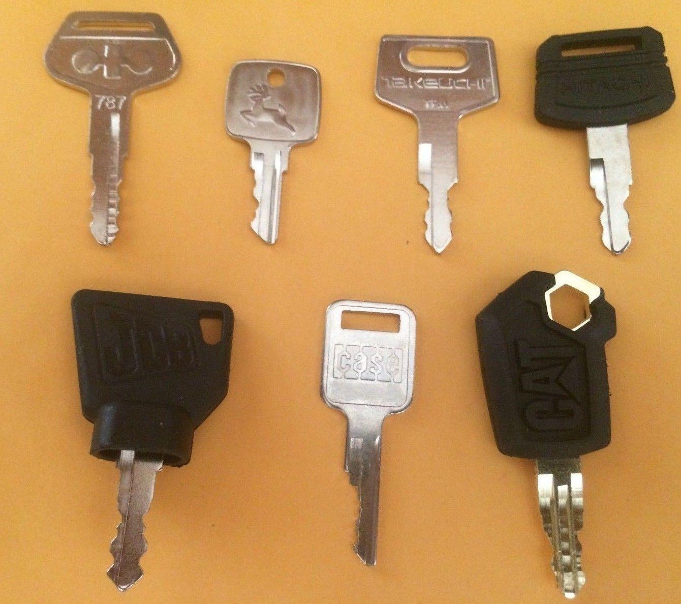 PJ's Equipment  Keys