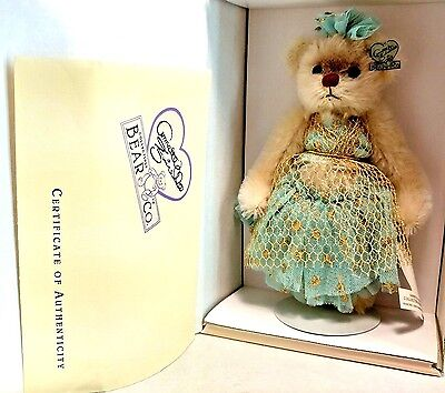 "Annette Funicello Sweater Series LE 5000 Mitzi Ballerina 8"" Plush Teddy Bear NEW"