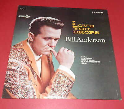 Bill Anderson -- I love you drops -- LP / Country gebraucht kaufen  Altenmoor