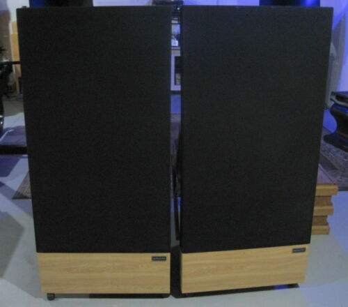 Pair of  Acoustat Model 3 Electrostatic Speakers==w/ MK-121-2A Interfaces