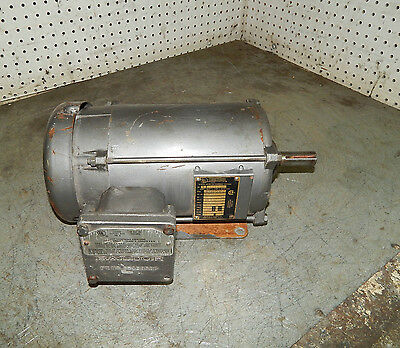 Baldor Electric M7037t Hazardous Location Motor 2hp 145t Frame 1725rpm 3phase