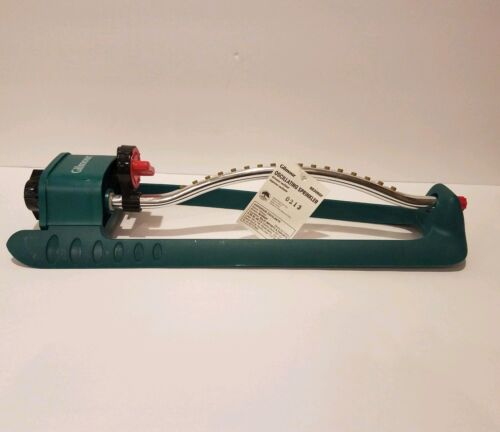 Gilmour Oscillating Lawn Sprinkler, Poly Base Metal Tube New