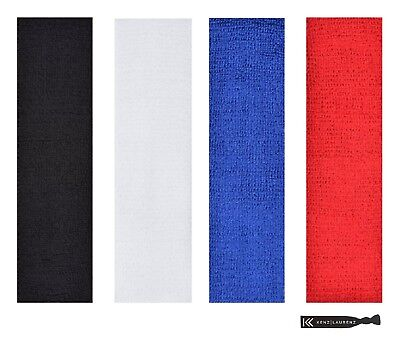 4 Pack TERRY SWEATBAND Cotton Headbands Absorbent Workout Quality Sport BANDS