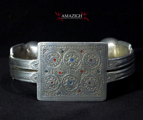 Outstanding Old Large Moorish Anklet - KHAL KHAL - West Africa