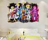 Dragon Ball Z Goku Cartoon 3D Kids Anime Break The Wall Stickers Vinyl Decal