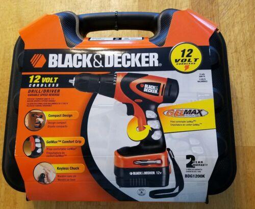 black and decker bdg1200k 12 volt cordless