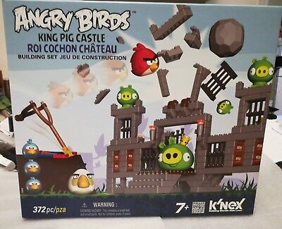 Angry Birds King Pig Castle  Knex Brand New In Box