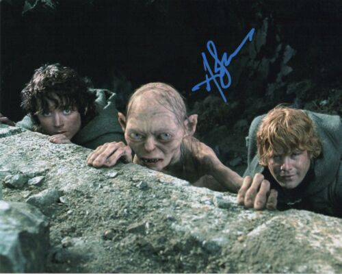 Andy Serkis Lord of the Rings Autographed Signed 8x10 Photo COA 2019-2