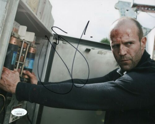 Entertainment Memorabilia Movies Jason Statham 8x10 Signed Photo Auto For Improving Blood Circulation