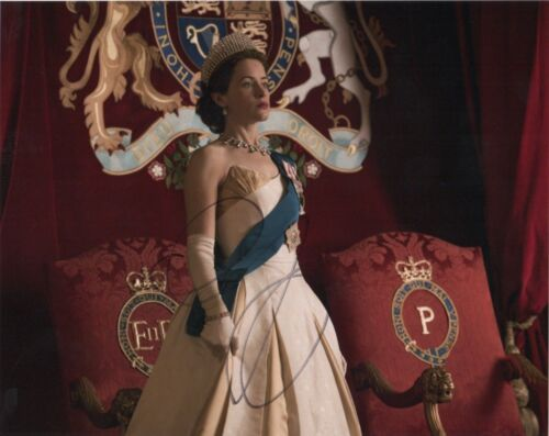 Claire Foy The Crown Autographed Signed 8x10 Photo COA #O24