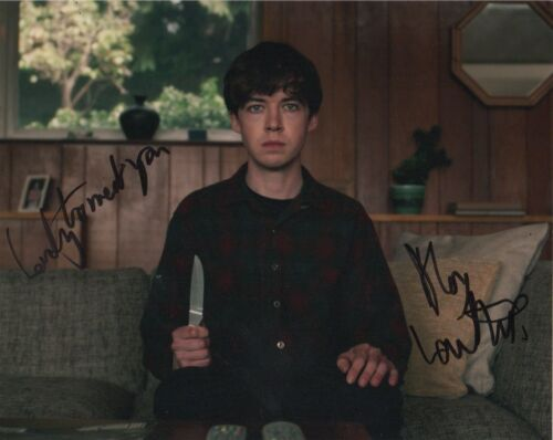 Alex Lawther It's the End of the World Autographed Signed 8x10 Photo COA E21