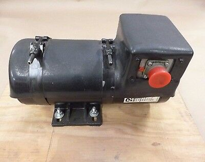 Xm56 Military Smoke Generator Dc Electric Pump Motor 24vdc 31-15-5750