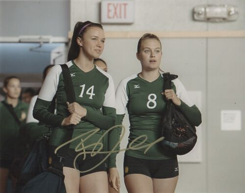 Tiera Skovbye Miracle Season Autographed Signed 8x10 Photo COA O4n