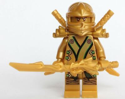 LEGO® Ninjago™ The GOLD Ninja with 3 Weapons