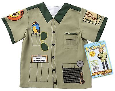 My 1st Career Gear Zoo Keeper Kids Dress Up Ages 3-5](Zoo Keeper Costumes)