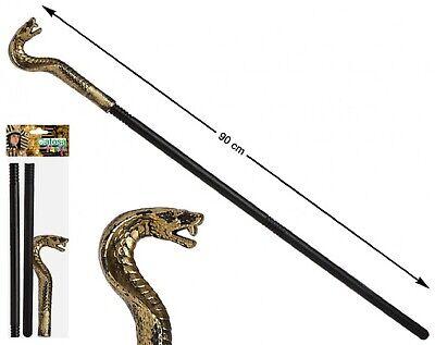 Serpent Kobra Kopf Cane Ägyptisch Kostüm Verkleidung (ägyptische Kobra Kostüm)