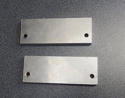 15 Stück  Alublech, Alu Profil, ca 14 * 5,1 * 1,2 cm,