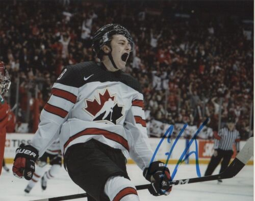 Team Canada Cody Glass Signed Autographed 8x10 Photo COA #10
