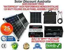 """SOLAR PANEL 120 Watt FOLDING """"WATERPROOF"""" MPPT  CONTROLLER Fremantle Fremantle Area Preview"""