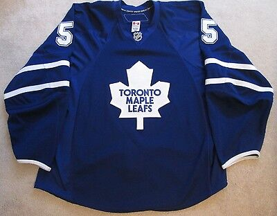 Toronto Maple Leafs Masterton Award Jason Blake Game Used Worn Hockey Jersey NHL