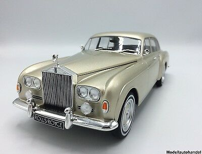 Rolls Royce Silver Cloud III Flying Spur H.J.Mulliner beige 1:18 MCG > Frei Haus