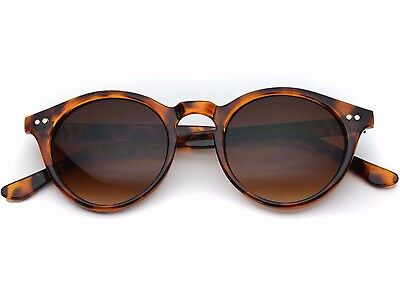 New Men Women Fashion Super Retro Round Frame Vintage Style Sunglasses