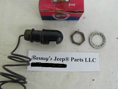 Used, KAISER WILLYS JEEP INSTRUMENT PANEL LIGHT NOS CJ2A CJ3A 640284 NOS!! for sale  Shipping to Canada