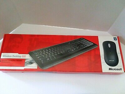 Microsoft Wireless Desktop 800 Keyboard & Mouse w/ transceiver Set