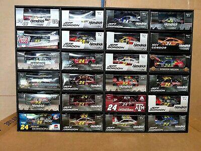 1:64 Diecast Car Display Case holds 24 Cars Lionel NASCAR & Hot Wheels