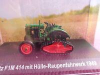 Sitzkissen Kissen Deutz F1M414 F1L514 Traktor Trecker Schlepper Deutz grün