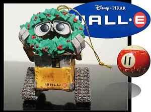Rare-amp-HTF-Wall-E-Robot-Pixar-Disney-President-GROLIER-Christmas-tree-ornament