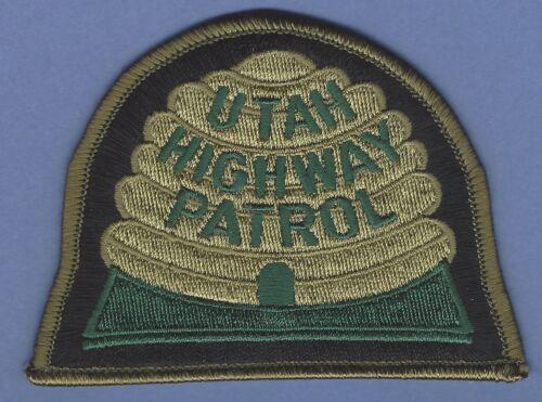 UTAH HIGHWAY PATROL POLICE SHOULDER PATCH TACTICAL GREEN