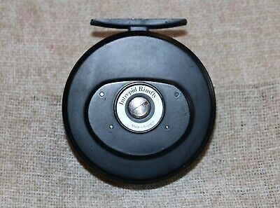 VINTAGE INTREPID RIMFLY FISHING REEL IN POUCH