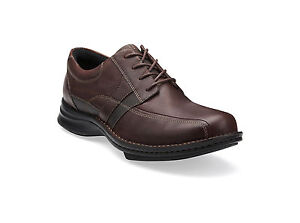 Clarks-WAVE-HATCH-Brown-Leather-Built-for-walking-comfort-style-30500