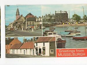 Scotland, Greetings from Musselburgh 1974 Postcard, A472