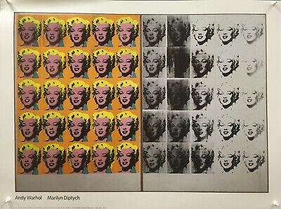 Andy Warhol - Marilyn Diptych 1962 - 2000 - (Andy Warhol Marilyn Diptych 1962 Pop Art)