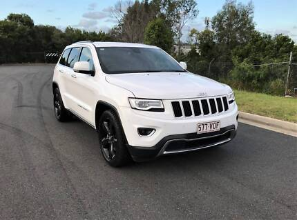 JEEPS GRAND CHEROKEE LIMITED 4X4 - HEAVILY OPTIONED
