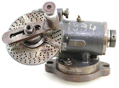 Van Norman 6-1088 Indexing Dividing Head Milling Machine Attachment