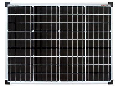 enjoysolar® Monokristallin 50Watt 12V Solarmodul Solarpanel Mono 50W
