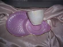 MAILING ENGLAND 1950s CUP SAUCER COMBINED PLATE LUSTER WARE Highett Bayside Area Preview