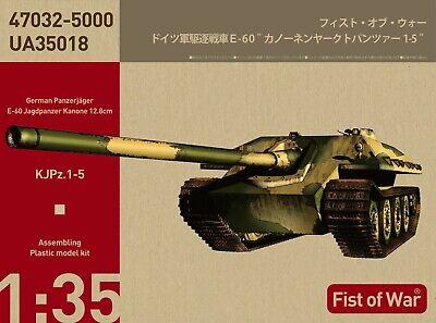 MODELCOLLECT UA35018 Panzerjäger E-60 Jagdpanzer Kanone 12,8cm in 1:35