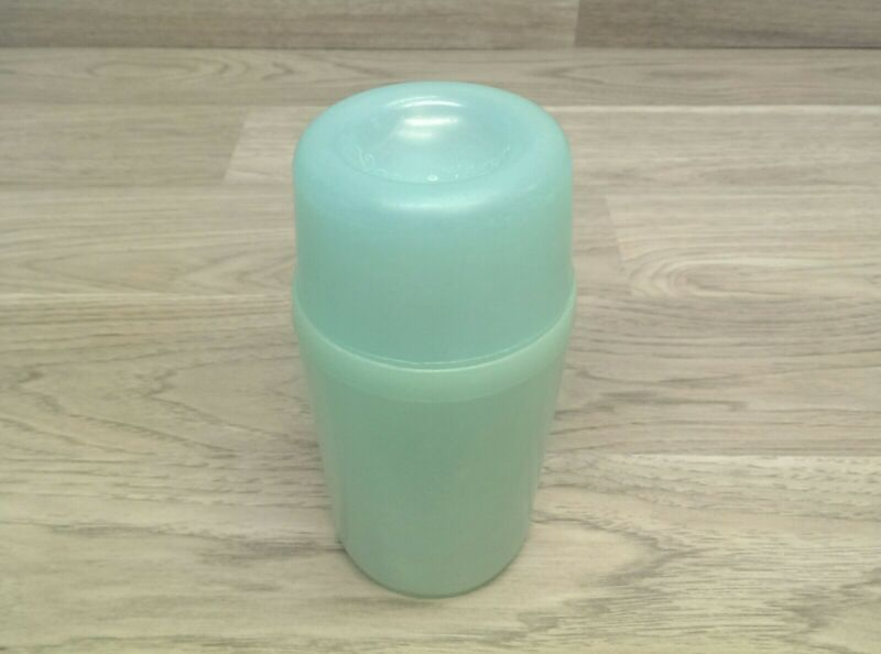 Rare Vintage Tupper Tupperware VACU MIXER Shaker Cocktail Container Blue 150