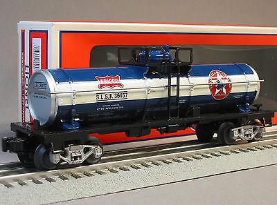 LIONEL TEXAN FRISCO TANK CAR 6-30142 O GAUGE tanker Texas Special 6-36157 NEW